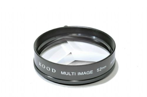 High Quality Kood Multi image x3 Filter Made in Japan 52mm